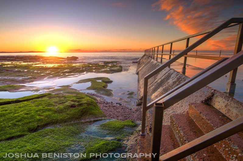 hdr rockpools in australia